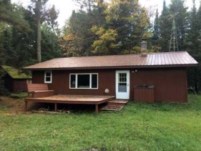 Forest County, Iron Wi County, Langlade County, Lincoln County, Oneida County, Vilas County Single Family Home For Sale: 14920 Hwy 55