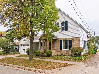 Tomahawk Single Family Home For Sale: 115 4th St S