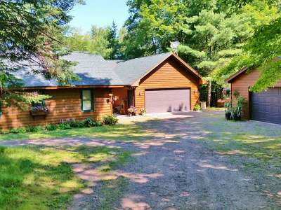 Lake Tomahawk Single Family Home For Sale: 8850 Finch Rd