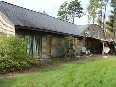 Tomahawk Single Family Home For Sale: N10796 Cth A