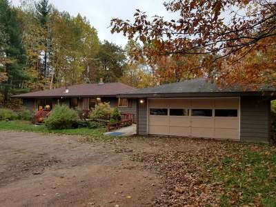 Eagle River WI Single Family Home For Sale: $129,000