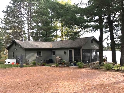 Tomahawk, Tripoli, Gleason, Rib Lake, Ogema, Brantwood Single Family Home For Sale: 9219 Hidden Waters Rd