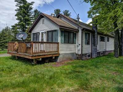 Eagle River WI Single Family Home For Sale: $65,000