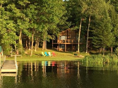 Minocqua WI Single Family Home For Sale: $549,000
