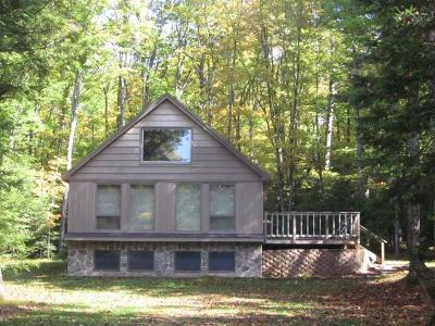Eagle River WI Single Family Home For Sale: $144,900