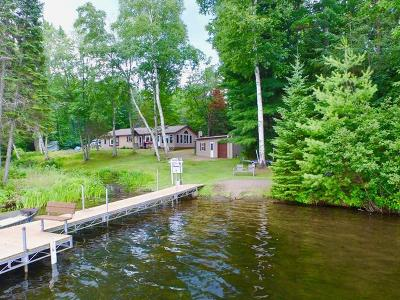Lac Du Flambeau WI Single Family Home For Sale: $298,800