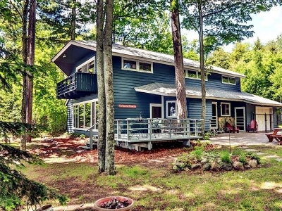 Lac Du Flambeau WI Single Family Home For Sale: $529,000