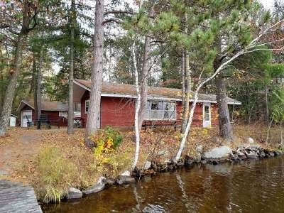 Forest County, Iron Wi County, Langlade County, Lincoln County, Oneida County, Vilas County Single Family Home For Sale: 2035 Rambling Ln