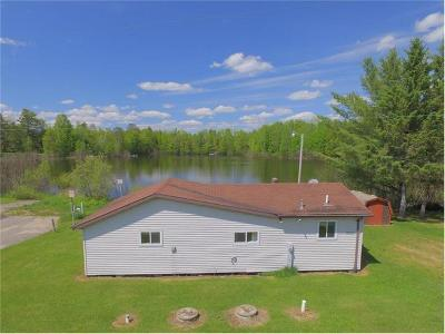 Forest County, Iron Wi County, Langlade County, Lincoln County, Oneida County, Vilas County Single Family Home For Sale: W10210 Cth J