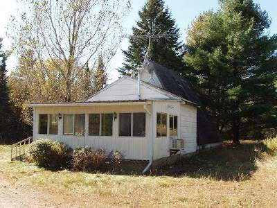 Fifield Single Family Home For Sale: W7317 Spring Inn Rd