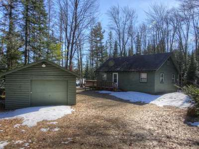 Langlade County, Forest County, Oneida County Single Family Home For Sale: 11575 Halme Ln