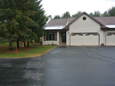 Minocqua Condo/Townhouse For Sale: 10011 Ridgewood Dr