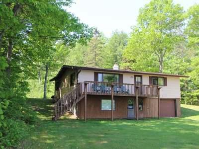 Lac Du Flambeau WI Single Family Home For Sale: $324,700