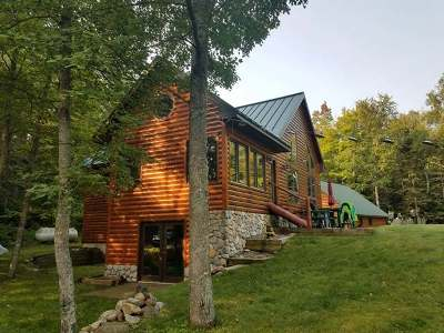 Presque Isle Single Family Home Active O/C: 7779 Rustic Rd