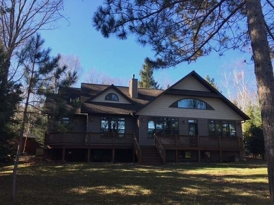 Lac Du Flambeau Single Family Home For Sale: 3351 Cth D