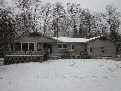 Eagle River WI Single Family Home For Sale: $172,500
