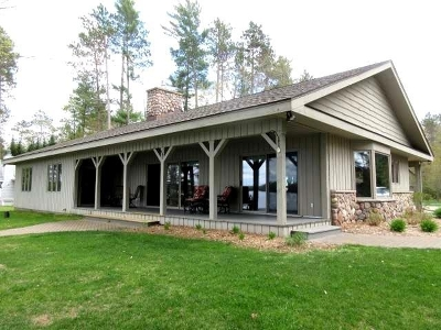St. Germain WI Single Family Home For Sale: $749,000