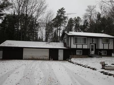 Eagle River WI Single Family Home For Sale: $114,500