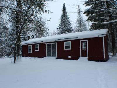 Lac Du Flambeau Single Family Home For Sale: 1900 Fence Lake Rd E