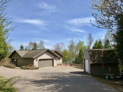 Minocqua Single Family Home For Sale: 12693 Booth Lake Rd