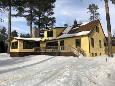 Vilas County Single Family Home For Sale: 8560 Inlet Rd #7