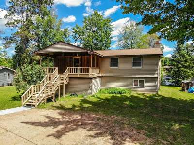 Tomahawk Single Family Home For Sale: N11286 Tomahawk River Rd