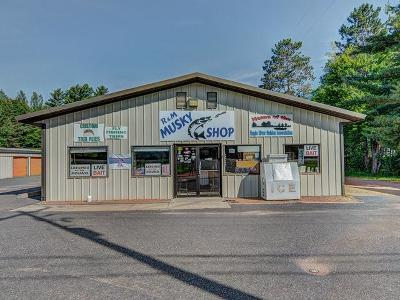 Eagle River WI Commercial For Sale: $149,000