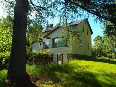 Forest County, Iron Wi County, Langlade County, Lincoln County, Oneida County, Vilas County Single Family Home For Sale: 5405 Spafford Rd #8+ Acres