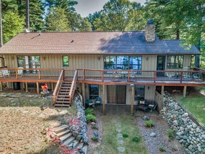 Minocqua Single Family Home For Sale: 8765 Sallet Dr