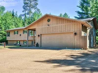 Minocqua WI Single Family Home For Sale: $449,900