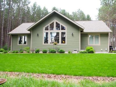 Minocqua Single Family Home For Sale: 7371 Pine Grove Cr