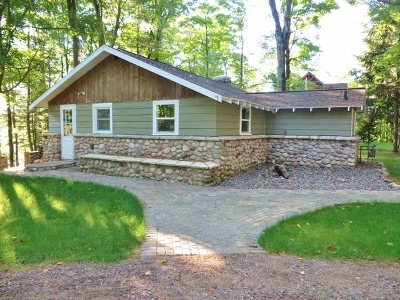 Langlade County, Forest County, Oneida County Single Family Home For Sale: 7770 Blue Lake Point Rd