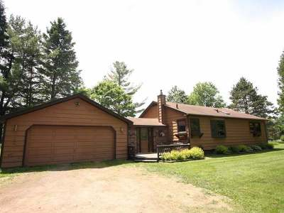 Langlade County, Forest County, Oneida County Single Family Home For Sale: 7024 Soo Lake Rd