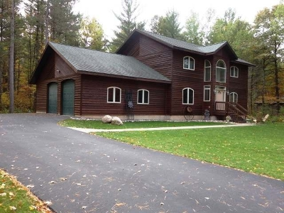 Minocqua Single Family Home For Sale: 10963 Duvall Ct