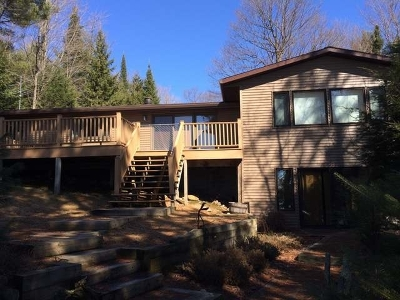 Langlade County, Forest County, Oneida County Single Family Home For Sale: 6807/9 Pinehurst Dr E