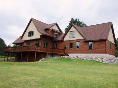 Minocqua WI Single Family Home For Sale: $485,000