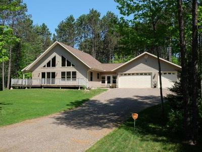 Minocqua Single Family Home For Sale: 10910 Florsheim Rd