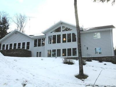 Pickerel Single Family Home For Sale: 9154 Bartz Bay Rd