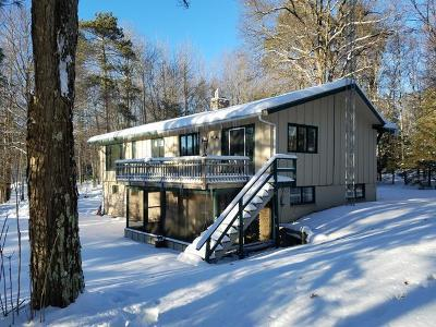 Minocqua Single Family Home For Sale: 10001 Hwy 70