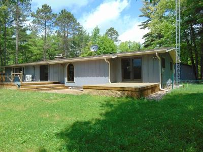 Manitowish Waters Single Family Home Active O/C: 13395 River Rd