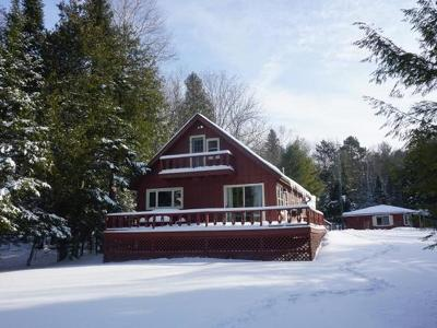 Eagle River Single Family Home Active O/C: 1487 Silver Lake Rd