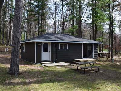 Forest County, Iron Wi County, Langlade County, Lincoln County, Oneida County, Vilas County Condo/Townhouse For Sale: 6221 Buckatabon Rd W #3