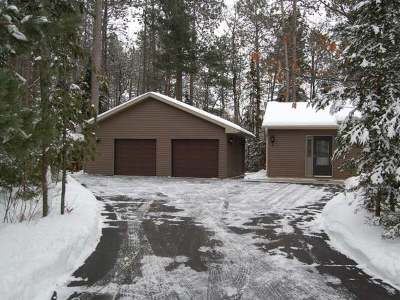 Forest County, Iron Wi County, Langlade County, Lincoln County, Oneida County, Vilas County Single Family Home For Sale: 1771 Lake Rd