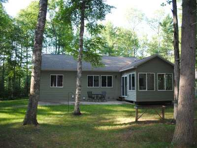Minocqua Single Family Home Active O/C: 11539 Christian Dr