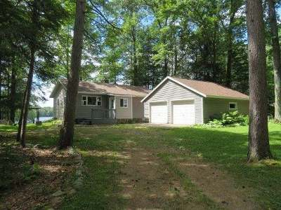 Elcho Single Family Home For Sale: N10798 Clear Lake Rd