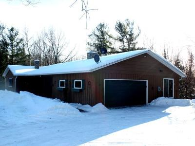 Single Family Home For Sale: W1120 Echo Lake Rd