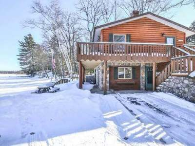 Minocqua Single Family Home For Sale: 9140 Country Club Rd