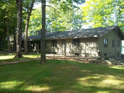 Land O Lakes Single Family Home For Sale: 7239&42 Big Lake Rd