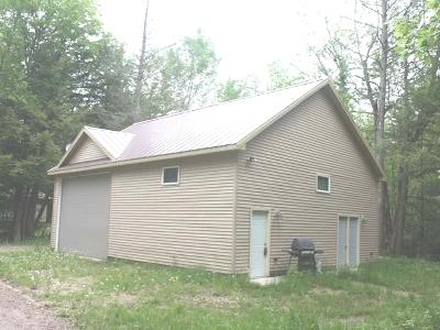 Lac Du Flambeau Single Family Home For Sale: W460 Caro Ln