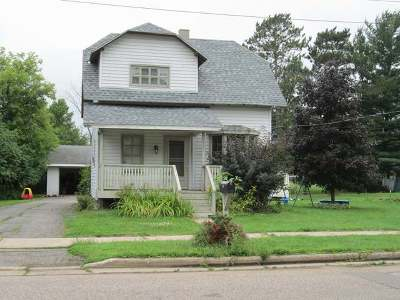 Antigo Single Family Home For Sale: 1332 Edison St